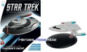 Star Trek Official Starships Collection #075 Enterprise E Captain's Yacht Eaglemoss